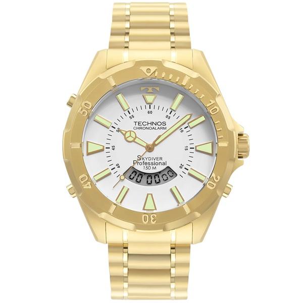 Relógio Technos Masculino Skydiver Wt205fl/4b Dourado