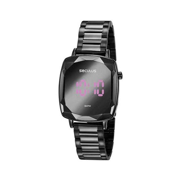Relógio Seculus Feminino Digital 77077LPSVPS4 Preto