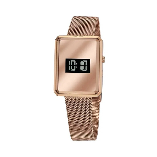 Relógio Seculus Feminino Digital 77061lpsvrs1 Rosé