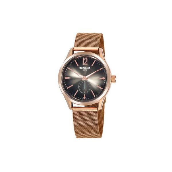 Relógio Seculus Feminino Glamour 20845lpsvrs1 Rosé