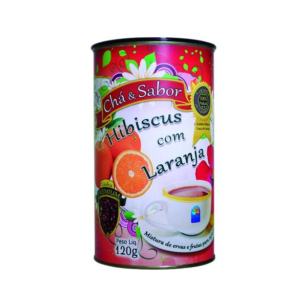 Chá Hibiscus Com Laranja 120g