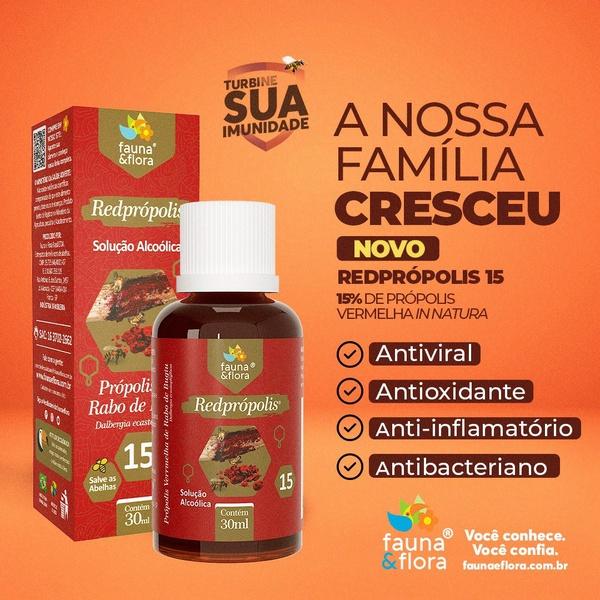 Redprópolis Solução Alcoolica 15% 30ml