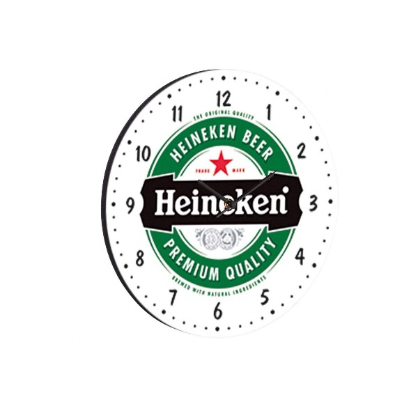 RELOGIO REDONDO 35X35 HEINEKEN