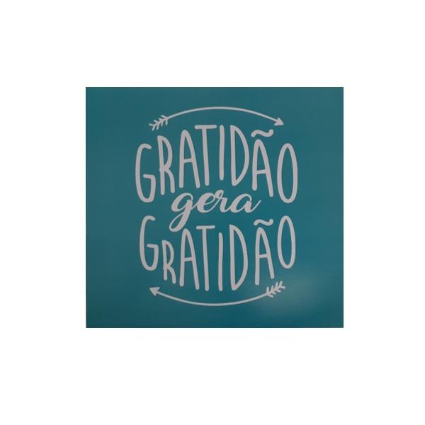 QUADRO 30X30CM GRATIDAO GERA GRATIDAO