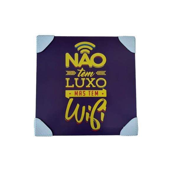 QUADRO 30X30CM WIFI LUXO