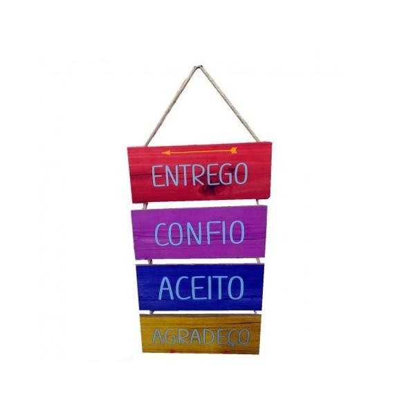 JOGO PLACAS CORDA C/4 ENTREGO