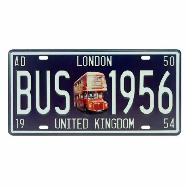 PLACA BUS 1956