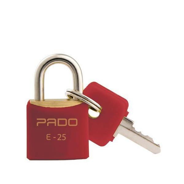 CADEADO 25MM PD SM VERMELHO 51016411