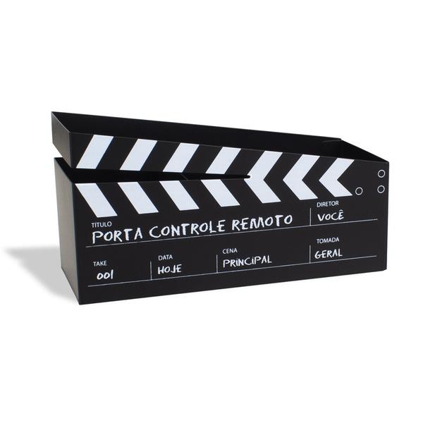 PORTA CONTROLES REMOTO CINEMA 21X11CM