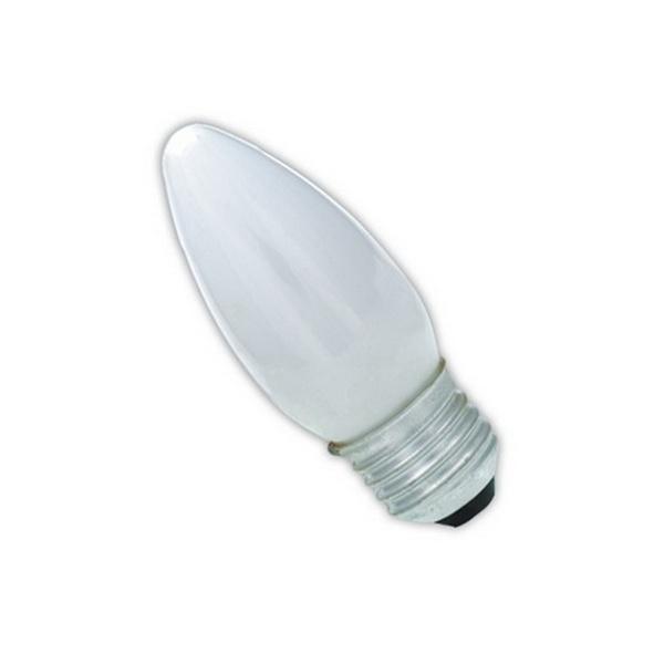 LAMPADA VELA 40 W 127 V E-27 BRANCA