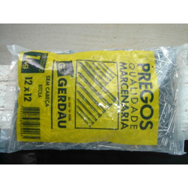 PREGO COM CABECA 18X30 KG