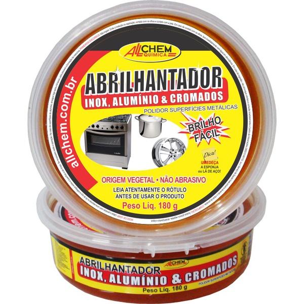 ABRILHANTADOR INOX E ALUMINIO ALCHEM