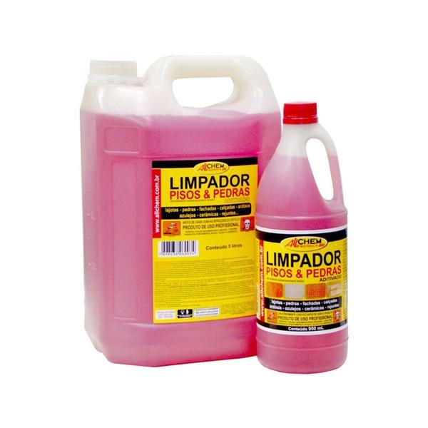 LIMPADOR PISO/PEDRAS ADITIVADO ALLCHEM 950ML