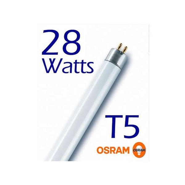 LAMPADA FLUORESCENTE 28 W T5 COR 830 AMARELA OSRAM
