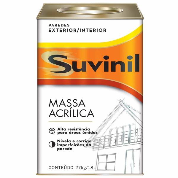 MASSA ACRILICA 18 LITROS SUVINIL