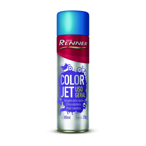 COLORJET PRETO BRILHANTE 1704 SPRAY