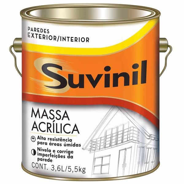 MASSA ACRILICA 3,6LITROS SUVINIL