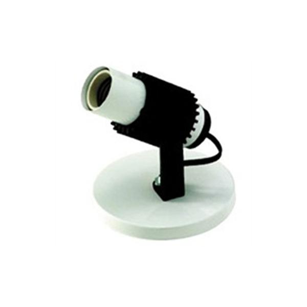 SPOT COM ALETA 1 LAMPADA BRANCO 190/1