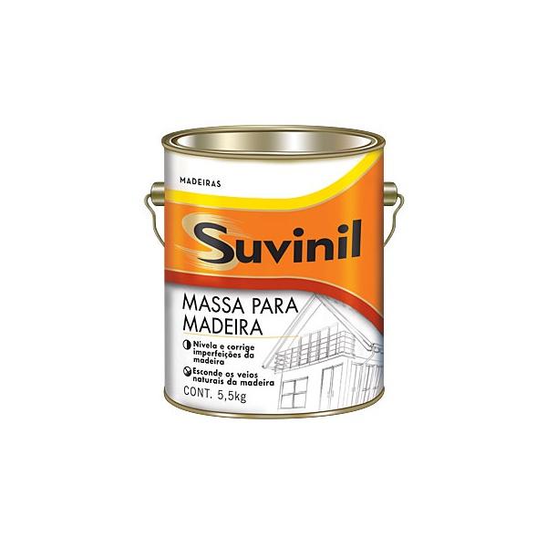 MASSA PARA MADEIRA 3,6 LITROS SUVINIL