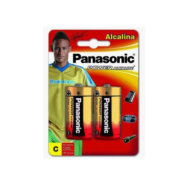 PILHA PANASONIC ALCALINA MEDIA CARTELA C/ 2
