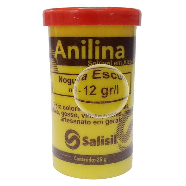 ANILINA SALISIL 25GR SOLUVEL EM ALCOOL ROSA