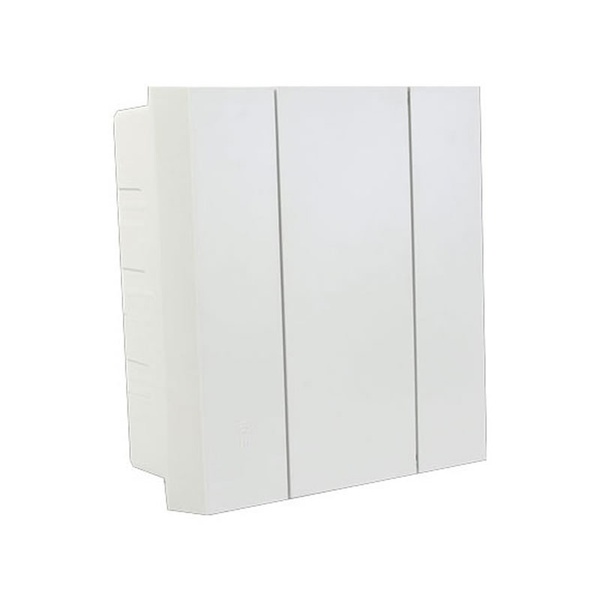 CD EMBUTIR PVC COM PORTA 8DIN/6UL