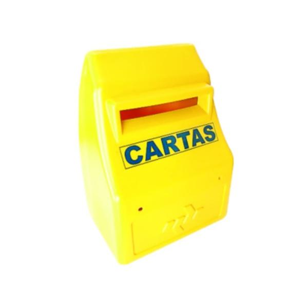 CAIXA PARA CORREIO PLASTICA AMARELA CIPLAST