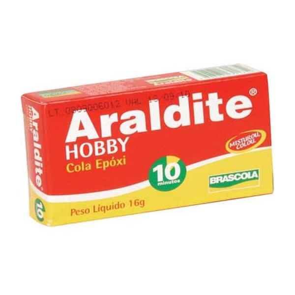 ARALDITE HOBBY 16 GR TRANSPARENTE