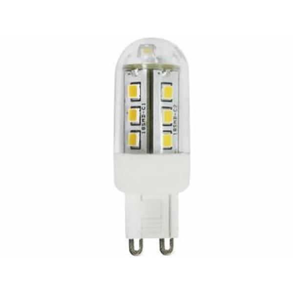 LAMPADA HALOPIN G9 LED 3W/3000K BIVOLT TASCHIBRA JCDL
