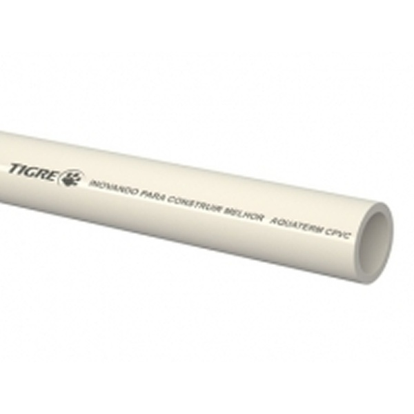 TUBO CPVC AQUATHERM 15 C/ 3MT