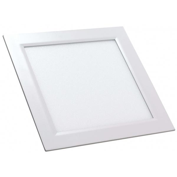 PAINEL LED SLIM EMB 6W/3000K 12X12X17.85 CRISTALUX