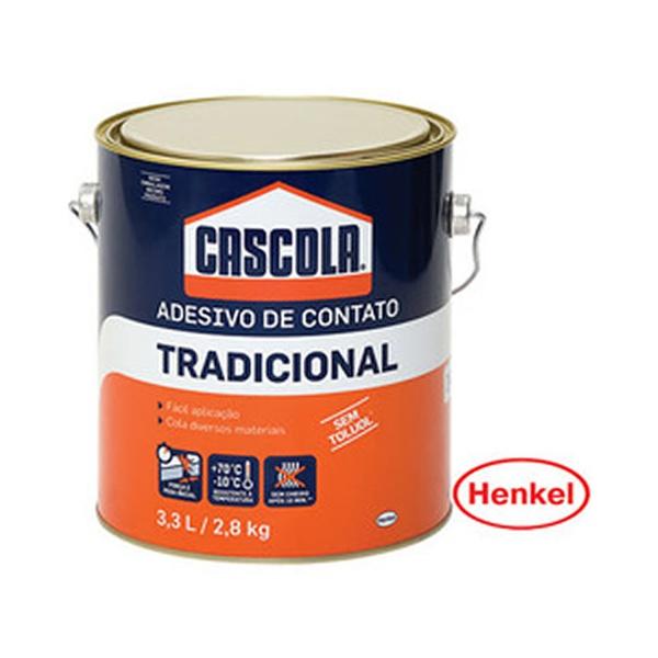 COLA CASCOLA 3,0 KG TRADICIONAL