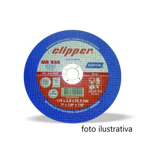DISCO REFRATARIO 4,5 NORTON
