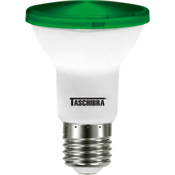 LAMPADA LED PAR 20 6W VERDE TASCHIBRA 11080324