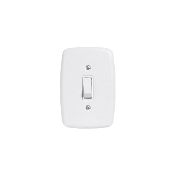 Interruptor 1 Seção 4x2 Ideale Pluzie