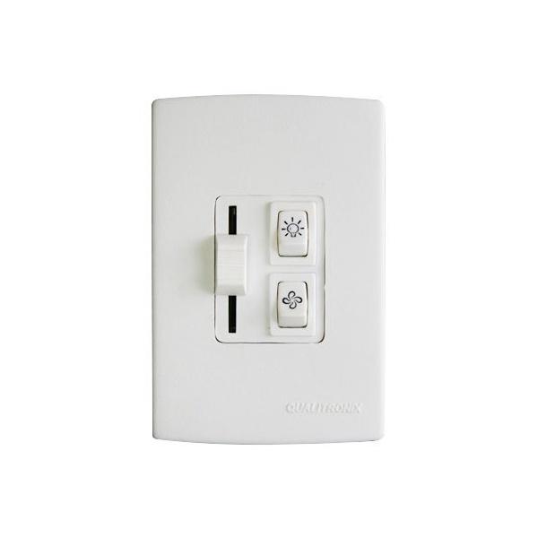 Controle De Ventilador Lampada + Velocidade Deslizante Qv36