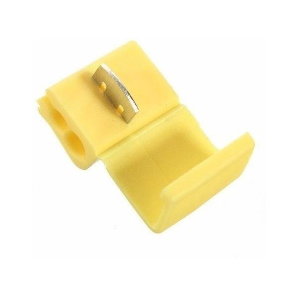 Conector De Derivacao Tigre - Amarelo 2,5 A 4mm 600v