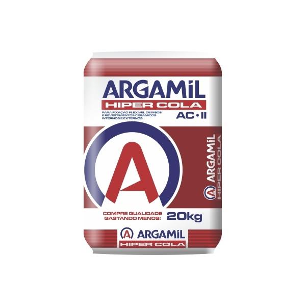 Argamassa Argamil Externa Hiper Cola 20kg