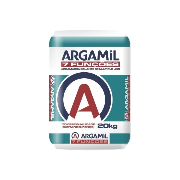 Argamassa Argamil 7 Funcões Especial Piso/Piso 20 Kg
