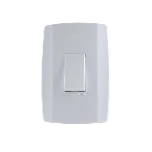 Interruptor Simples 10a 250v Slim - Ilumi