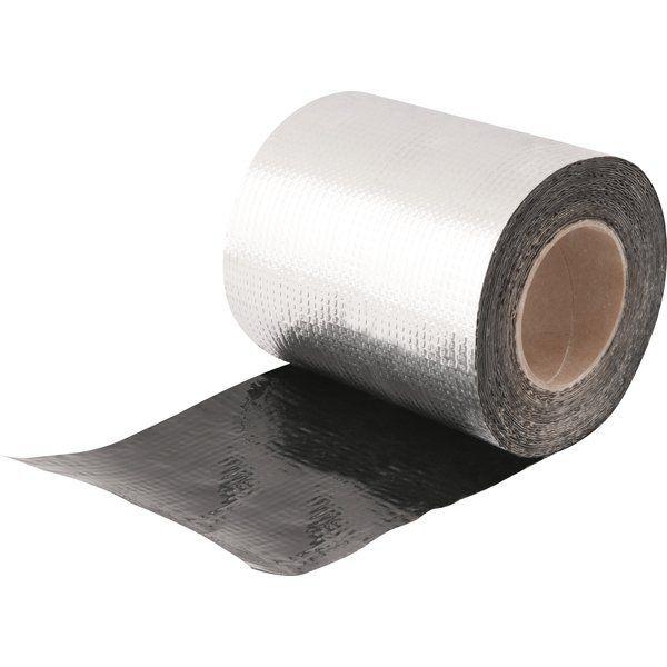 Manta Asfáltica Adesiva Com Alumínio 20cm Larg Com 10 Metros