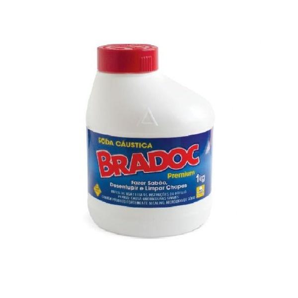 Soda Caustica Bradoc 1kg