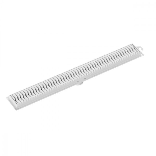 Ralo Linear 50cm Pvc Branco Tigre