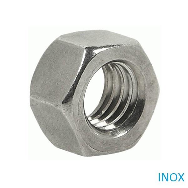 Porca Sextavada Inox 304 3/8 100 Peças