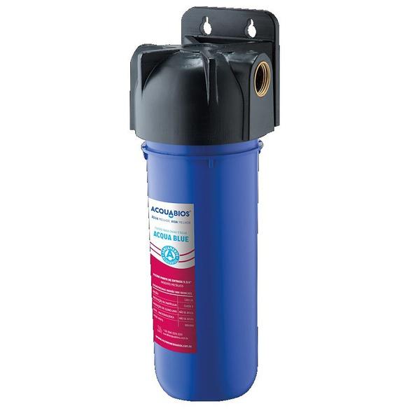 Filtro Acqua 230 Blue Para Caixa d Agua Rosca Metalica