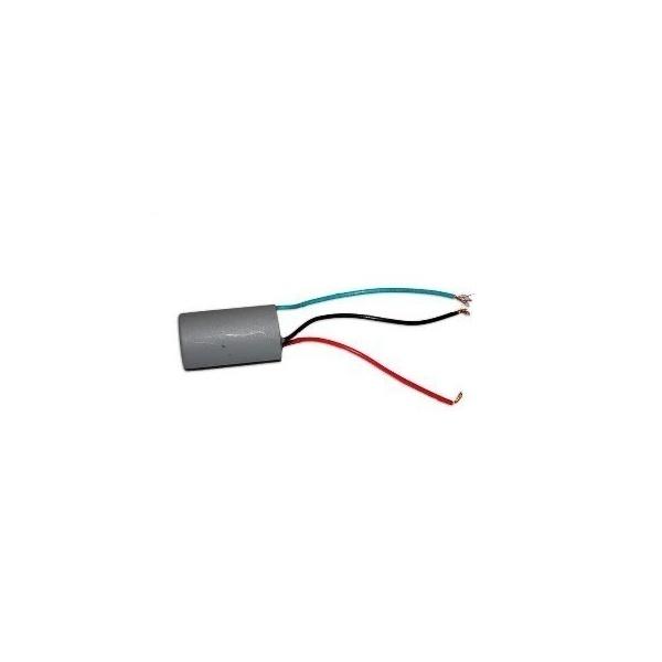 Capacitor Para Motor Duplo 4 + 8mf 250v 3 Fios