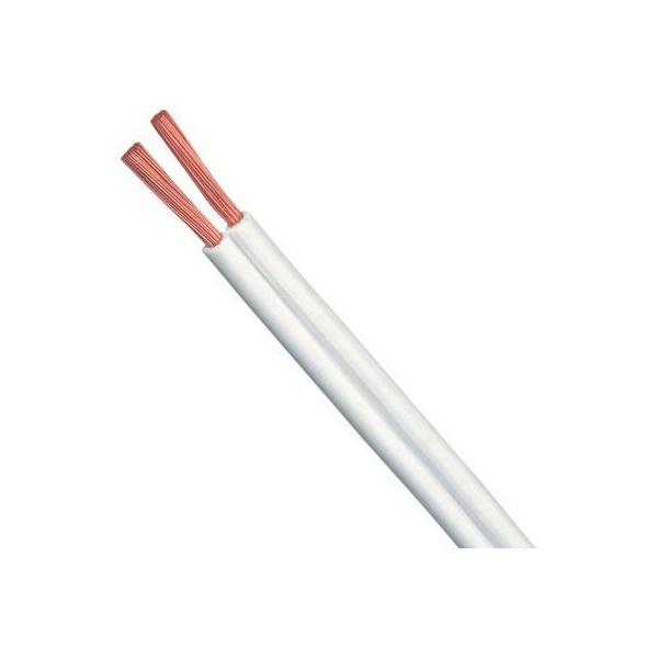 Fio Paralelo Branco 2 X 2,50mm (metro)