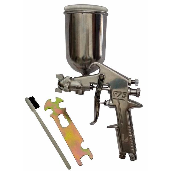Pistola Em Alumínio Para Tinta Gravidade 350ml