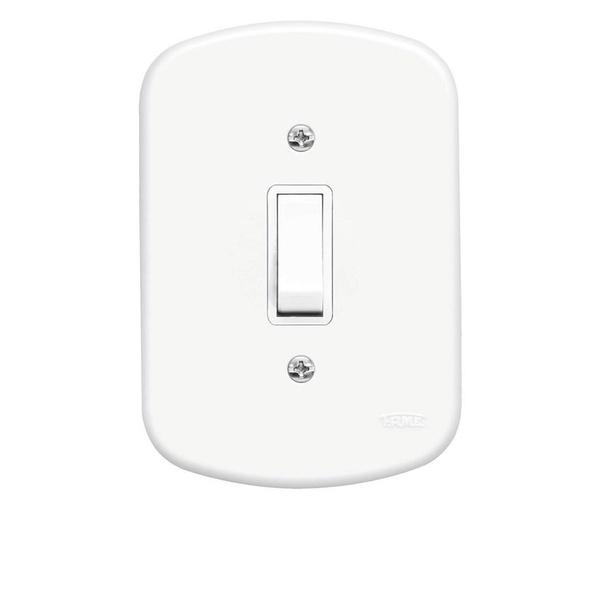 Interruptor Paralelo 1 Seção 4x2 Blanc Fame