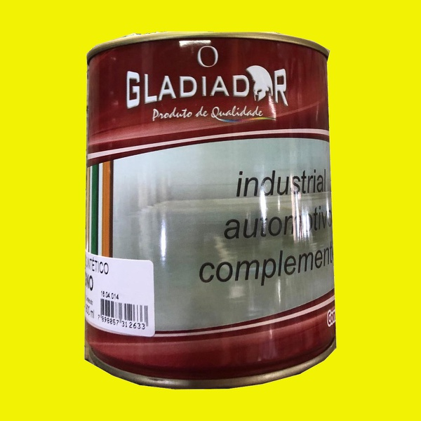 Tinta Esmalte Para Madeira e Metais 900ml Amarelo Brilhante